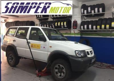 Cambio de neumáticos Taller en Madrid